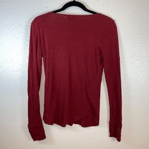 Lucky Brand Tops - Embroidered Long Sleeve Lucky Brand Shirt